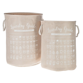 Laundry Guide Hamper Set