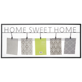 Home Sweet Home Metal Clip Collage Frame