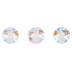 Silk Shimmer Swarovski Xirius Flat Back Hotfix Crystals - 12ss