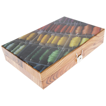 Embroidery Floss Organizer Box