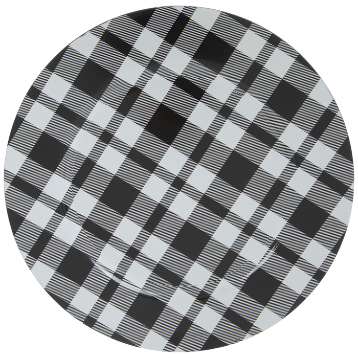 Black White Plaid Plate Charger Hobby Lobby 1866698
