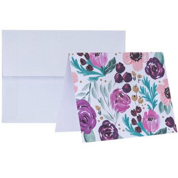 Painted Petals Box Of Cards