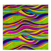 Groovy Holographic Swirls Gift Wrap