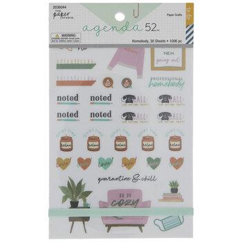 Homebody Stickers