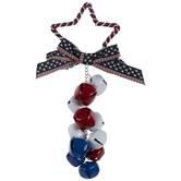 Patriotic Star & Bells Door Hanger
