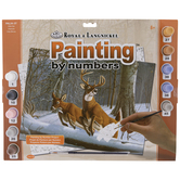 White Tails Paint By Number Kit