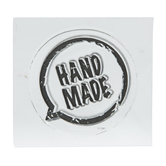 Hand Made Speech Bubble Clear Stamp