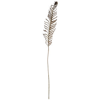 Flocked Dragon Fern Stem
