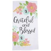 Grateful & Blessed Kitchen Towel