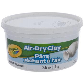 White Crayola Air Dry Clay Hobby Lobby 22438