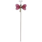 Butterfly Metal Garden Pick