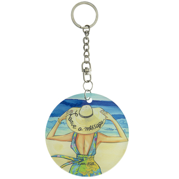 Leave A Message Keychain