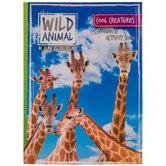 Wild Animal Kingdom Coloring & Activity Book