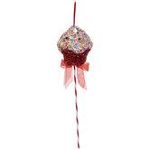 Tinsel Cupcake Pick