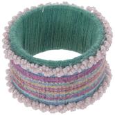Beaded Striped Napkin Ring