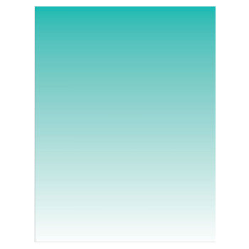 """Turquoise Ombre Scrapbook Paper - 8 1/2"""" x 11"""""""
