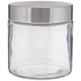Stainless Glass Mason Jar - 25 Ounce