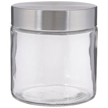 Stainless Glass Mason Jar