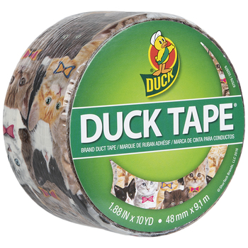 Kittens & Bow Ties Duck Brand Duck Tape