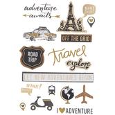 Road Trip 3D Stickers
