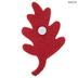 Maple Leaf Felt Stickers