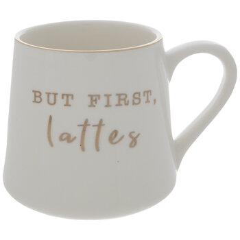 But First Lattes Mug