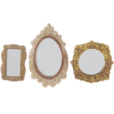 Miniature Framed Mirrors