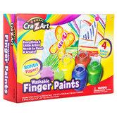 Washable Finger Paint Kit