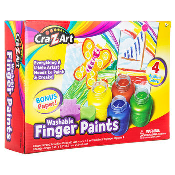 Washable Finger Paint Kit