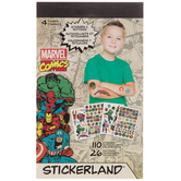 Marvel Comics Stickerland Stickers & Tattoos