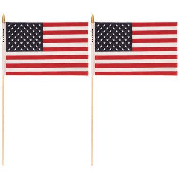 "U.S.A. Flags - 8"" x 12"""