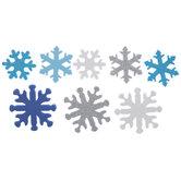 Snowflake Foam Stickers