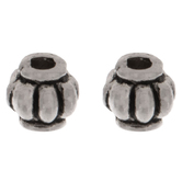 Corrugated Beads - 4mm x 4mm