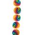 Tie-Dye Coin Shell Bead Strand