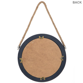 Round Wall Mirror With Rope
