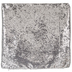 Silver Sequin Pillow Cover