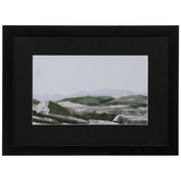 Green Hills Framed Wood Wall Decor