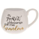 My Greatest Blessings Call Me Grandma Mug