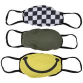 Multi-Color Boys Face Masks