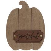 Grateful Wood Pumpkin