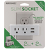 Slim Socket Charger Wall Plate