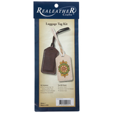 Leather Luggage Tag Kit