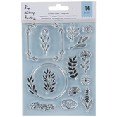 Floral Frames Clear Stamps