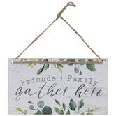 Gather Here Wood Wall Decor
