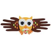 Hand Print Owl Foam Craft Kit