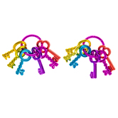 Bright Key Ring Charms