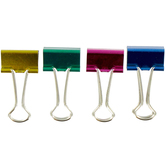 Metallic Binder Clips - 19mm