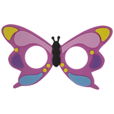 Butterfly Fun Glasses Accessory Foam Craft Kit