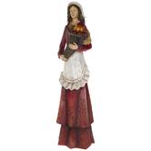 Female Pilgrim With Cornucopia