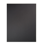 "Black Ore Metallic Scrapbook Paper - 8 1/2"" x 11"""